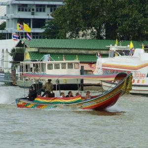 Прогулка по реке Чао Прая в Бангкоке