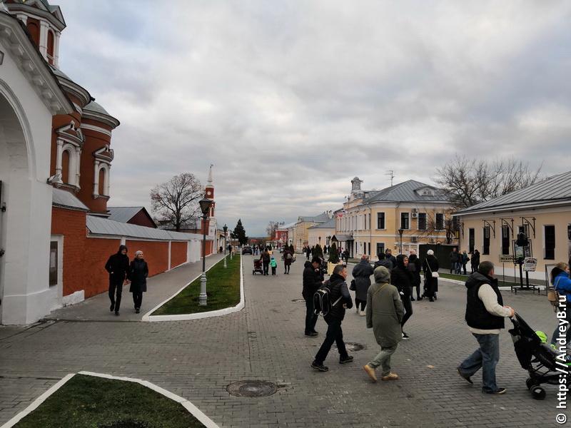 Улица в коломенском кремле